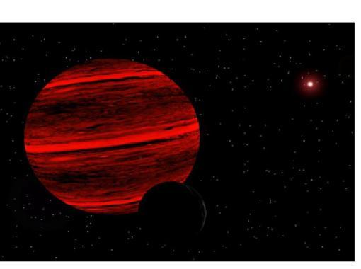 Estrella tipo M5. Enana Marrón.