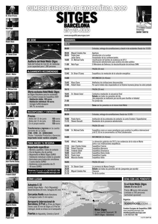 Programa Cumbre 2009