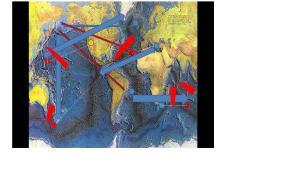 Incidencia de las fuerzas geotectónicas como consecuencia de las perturbaciones gravitatorias