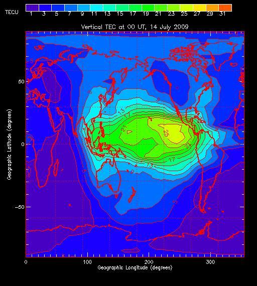La ionosfera hoy.