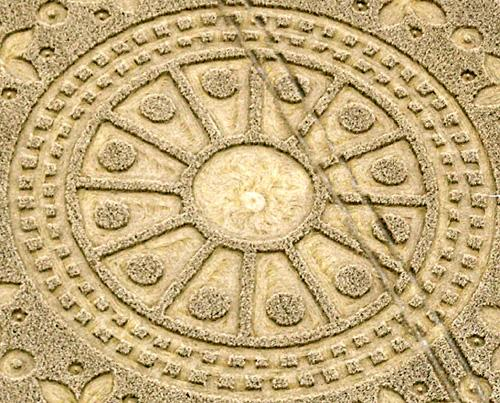 Crop circle 12 de agosto: Una foto lógica de la perturbación en Sagitario