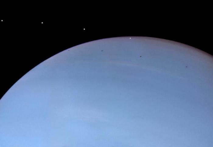 La supuesta Luna de Neptuno.
