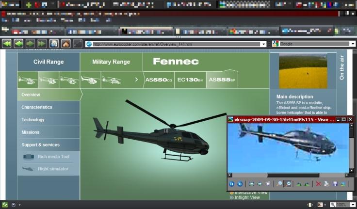 Helicóptero  UFO BLACK