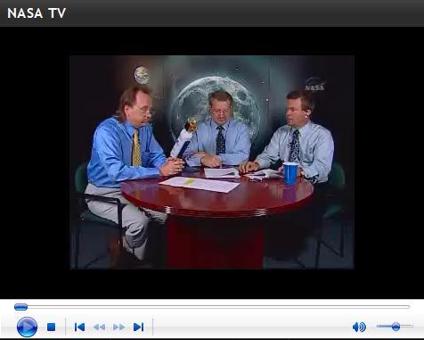 Nasa TV.-LCROSS