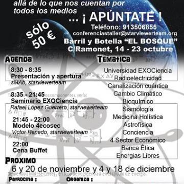 Próxima Cena Taller Medicina Holística y Diferencial Köenig-Guerrero, 6 de Noviembre.