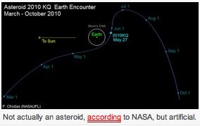 asteroid2010KQ