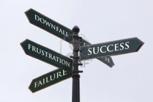 4520115-directions-road-sign-for-success-failure-frustration-and-downfall-300x200
