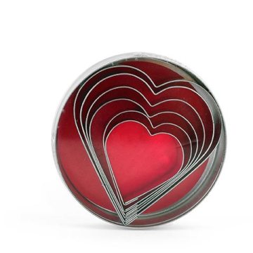 moldes-corazón