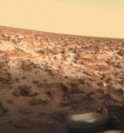 Marte al descubierto: Desde la Viking a la Curiosity. ¿Civilizaciones perdidas? Viking-frost